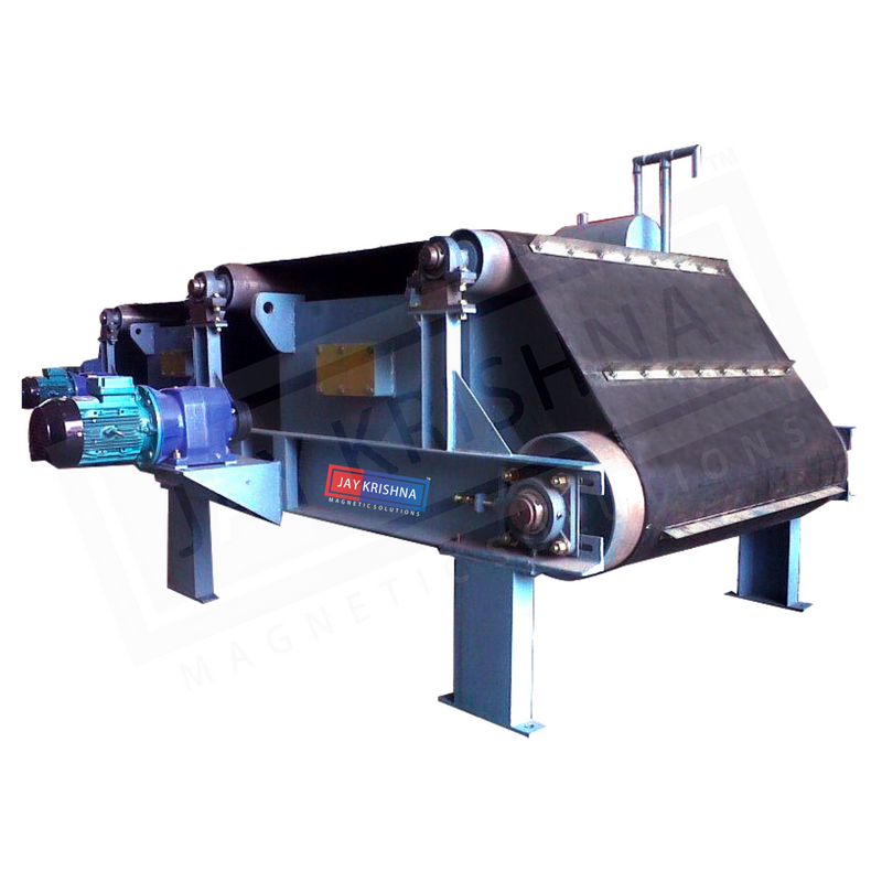 Electromagnetic Overband Magnetic Separator