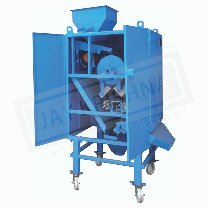 Magnetic Combo Separator manufacturer, supplier and exporters in India, UAE and Europe