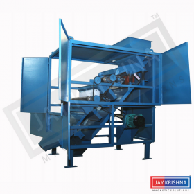High-Intensity Roller Type Magnetic Separator Manufacturers and Suppliers in India – Jaykrishna Magnetics Pvt. Ltd.