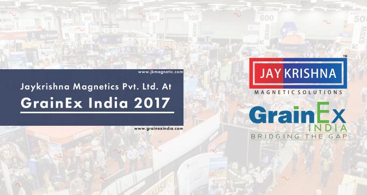 Jaykrishna Magnetics Pvt. Ltd. At GrainEx India 2017