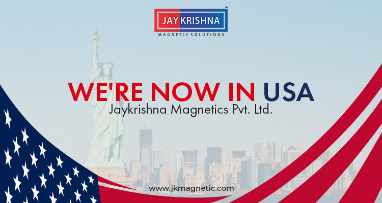 Were Now In USA Jaykrishna Magnetics Pvt Ltd Jaykrishna - In usa