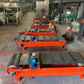 Overband Magnetic Separator For Recycling